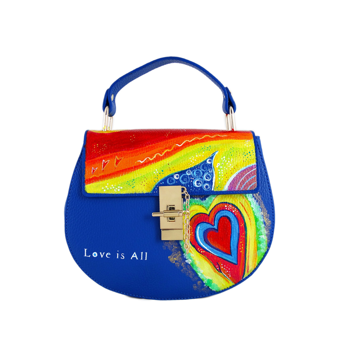 Borsa dipinta a mano – Love is all