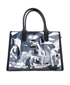 Hand painted bag - Guernica by Picasso