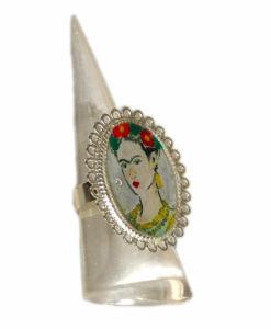 Anello dipinto a mano – Passione per Frida color