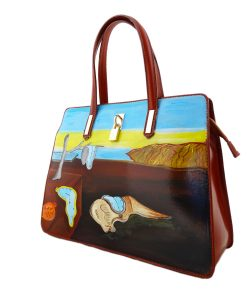 Hand painted bag - The Persistence of Memory by Dalì