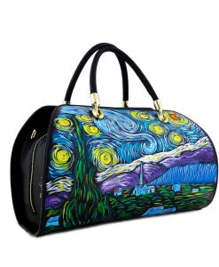 Handpainted Bag - The Starry Night by Van Gogh