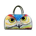 Borsa dipinta a mano – Owl