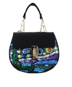 Handpainted bag – The Starry Night by Van Gogh