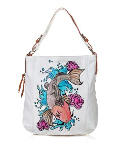 Borsa dipinta a mano – Cat fish