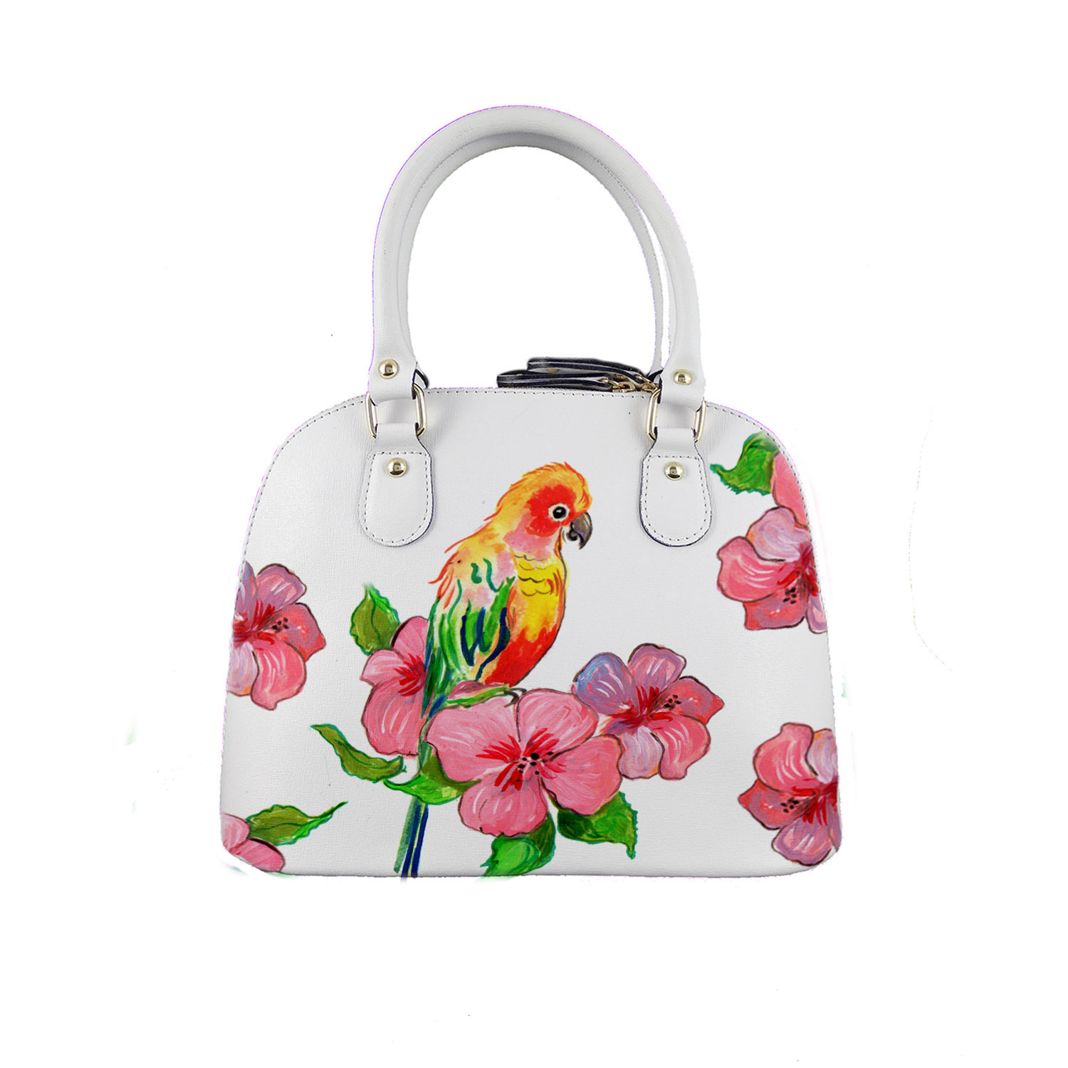 Borsa dipinta a mano – Color bird