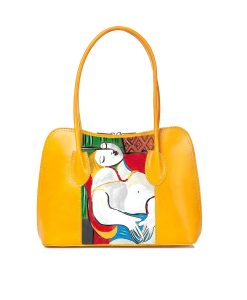 Hand painted bag - The dream by Picasso