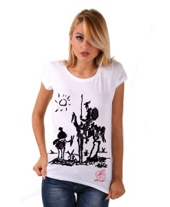 Hand-painted Jersey - Don Quixote of La Mancha by Picasso