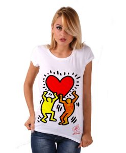 Hand-painted Jersey - Tribute to Keith Haring