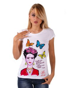 Hand-painted Jersey - My love! Frida Kahlo