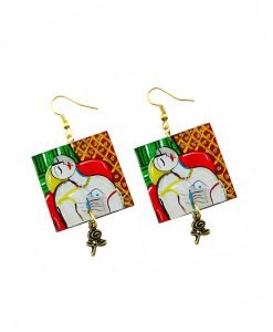 Hand-painted Earrings - The dream by Picasso