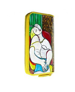 Hand painted wallet - The dream by Picasso
