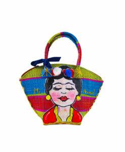 Borsa dipinta a mano – I Love Frida