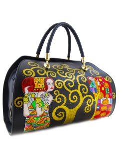 Hand painted bag - The Tree of Life by Klimt