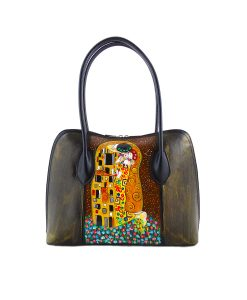 Hand-painted bag - The Kiss by Klimt