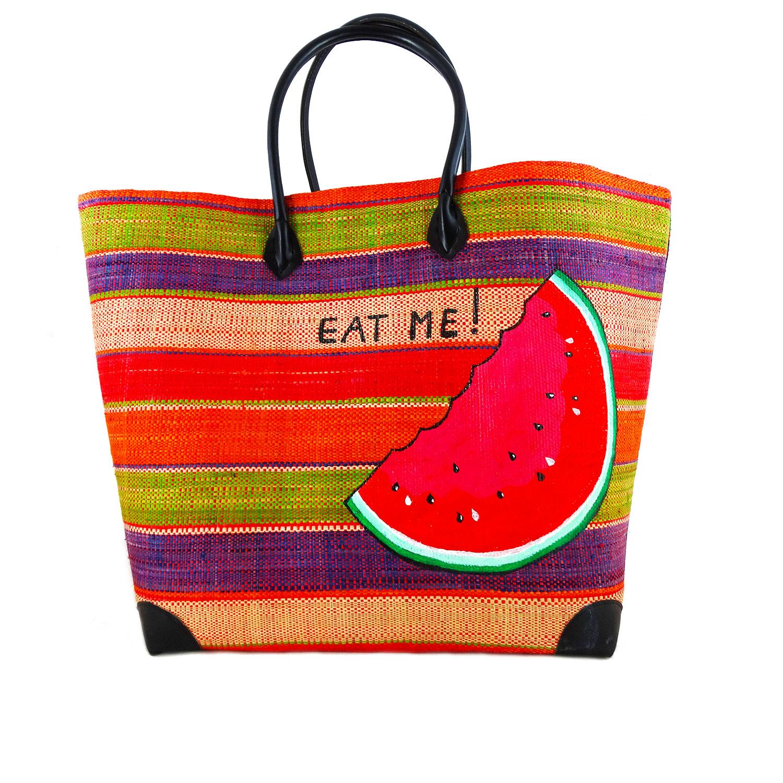 Handmade Handbag - Eat Me!