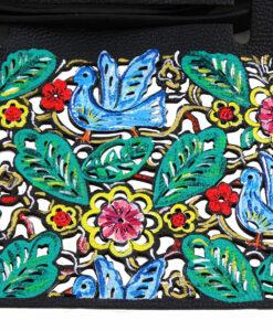 Borsa dipinta a mano - Nature color