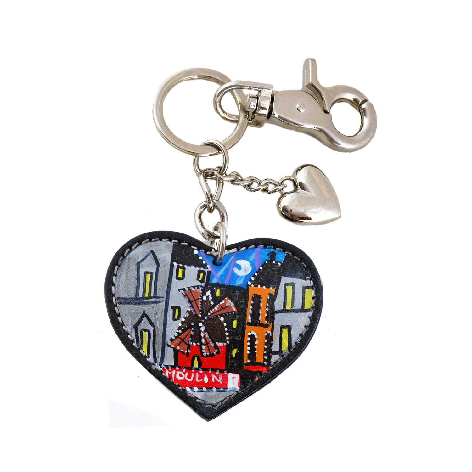 Hand painted keychain – Moulin Rouge