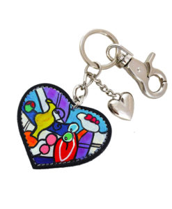 Hand painted keychain -Nude with still life by Picasso