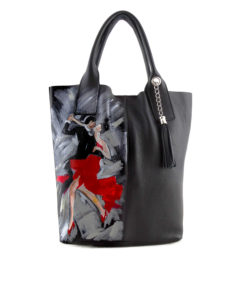 Hand-painted bag - Tango