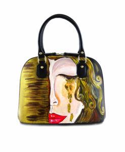 Borsa dipinta a mano – Freyja di Anne Marie Zilberman
