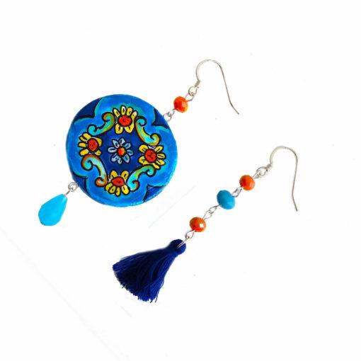 Cerchio arancio e blue di Vietri