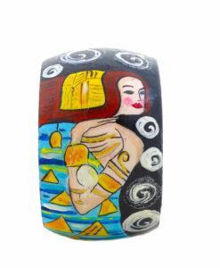 Bracciale dipinto a mano – L' attesa (Expectation) di Klimt